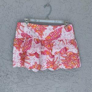 Lilly Pulitzer Mini Skirt SZ 2